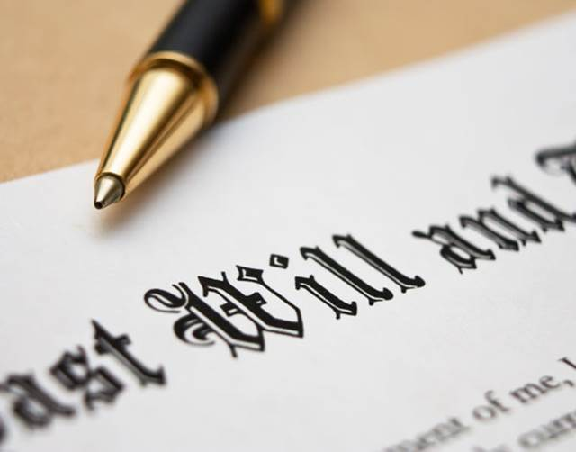 Writing A Will Testament