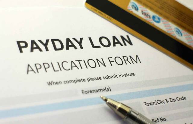 Payday Loan Application Form