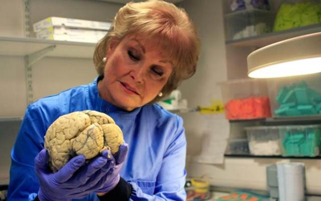 Angela Rippon At Autopsy