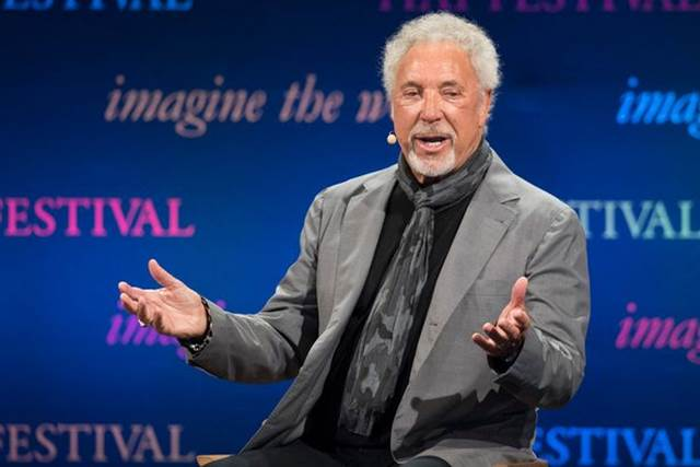 Sir Tom Jones Talks About Wife's Death