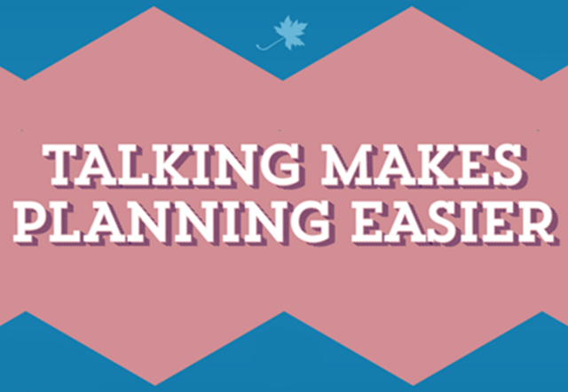 Talking Makes Planning Easier