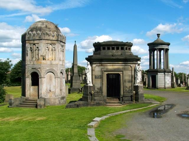 Glasgow Necropolis Tombs