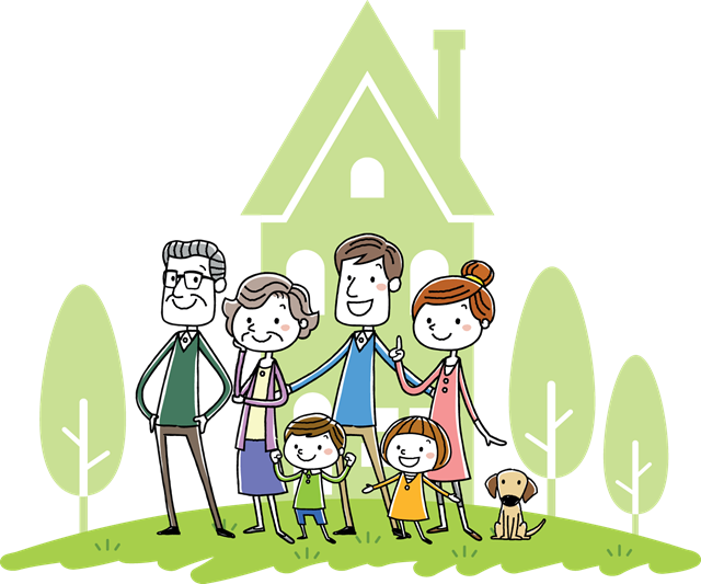 Family Household Animation