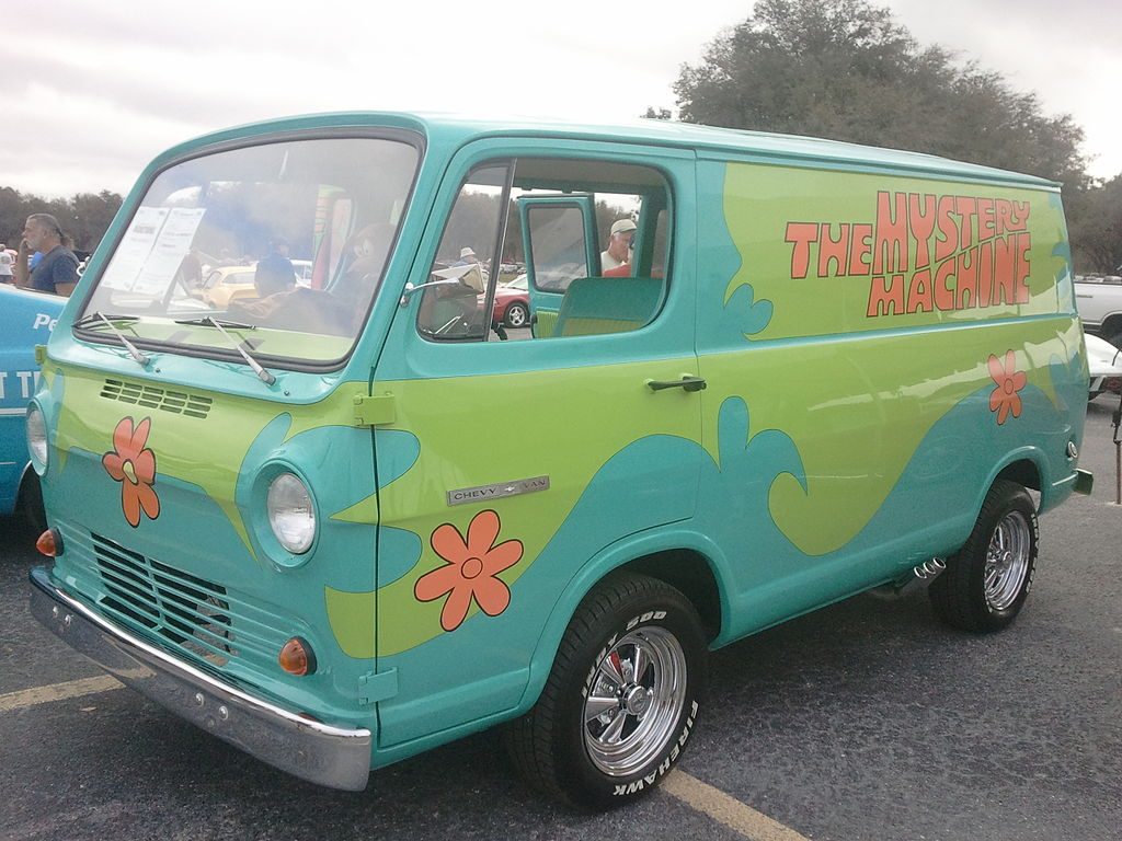 1966 Chevy Van The Mystery Machine