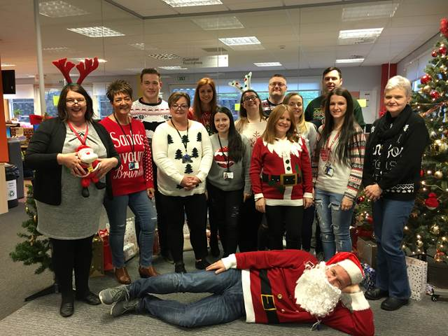 Christmas Jumper Day At Golden Charter