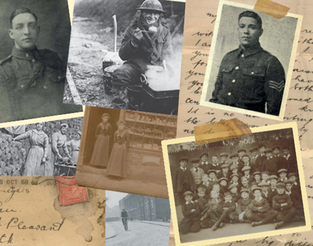 Old Wartime Photos And Letters