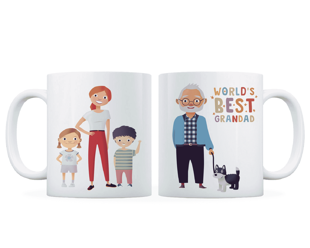 Golden Charter family mug